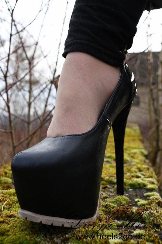 Unterwegs in meinen Giaro Heels