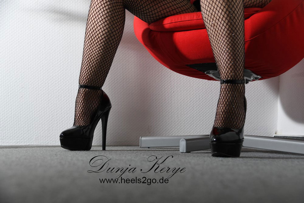 Schattenspiele in High Heels